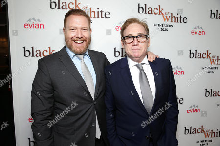 """Ryan Kavanaugh, Chief Executive Officer of Relativity and Director/Writer Mike Binder seen at Relativity Studios Los Angeles Premiere of """"Black or White"""" held at Regal Cinemas, in Los Angeles"""