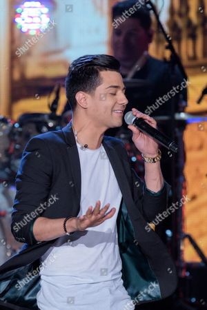 Luis Coronel performs at RiseUp As One at Cross Border Xpress, in San Diego