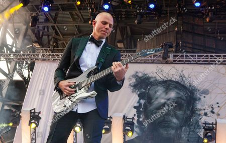 Josh Rand of Stone Sour performs at Rock on the Range on in Columbus, Ohio