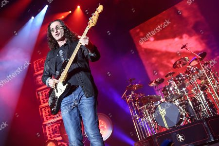 Editorial photo of Rush in Concert - , Los Angeles, USA - 1 Aug 2015