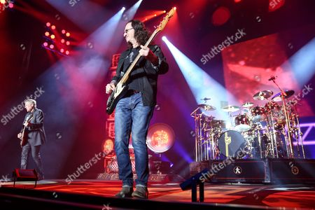 Editorial picture of Rush in Concert - , Los Angeles, USA - 1 Aug 2015