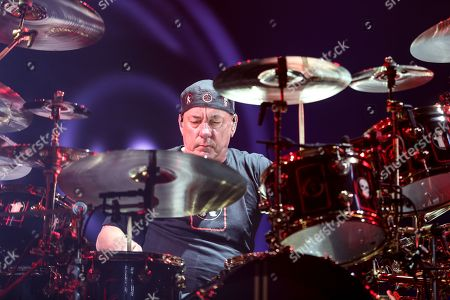 Editorial image of Rush in Concert - , Los Angeles, USA - 1 Aug 2015
