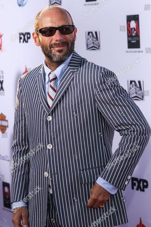 """Stock Picture of Actor Michael Ornstein arrives at the season 6 premiere screening of """"Sons of Anarchy"""" at the Dolby Theatre on in Los Angeles"""