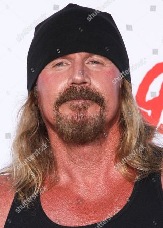 """Rusty Coones arrives at the season 6 premiere screening of """"Sons of Anarchy"""" at the Dolby Theatre on in Los Angeles"""