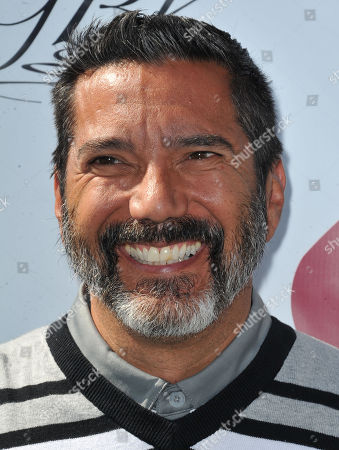 Steven Michael Quezada arrives at the Seventh Annual George Lopez Celebrity Golf Classic at Lakeside Golf Club, in Toluca Lake, Calif