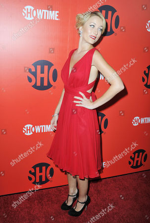 Sadie Katz arrives at the Showtime Primetime Emmy's Eve Party at the Sunset Tower on in Los Angeles