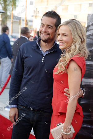 Rich Orosco and Julie Benz at Showtime's Dexter Premiere, on Saturday, June, 15, 2013 in Los Angeles