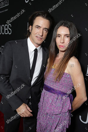 Dermot Mulroney and Tharita Catulle seen at the Special Los Angeles Screening of Open Road and Five Star Feature Films 'JOBS', on Tuesday, August, 13, 2013 in Los Angeles