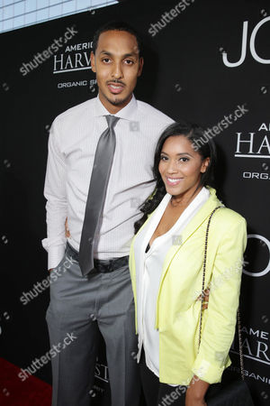 Ryan Hollins and Janice Hollins seen at the Special Los Angeles Screening of Open Road and Five Star Feature Films 'JOBS', on Tuesday, August, 13, 2013 in Los Angeles