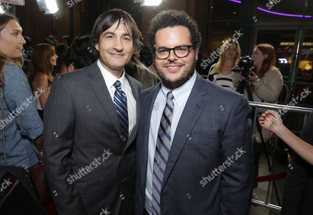 Director Joshua Michael Stern and Josh Gad seen at the Special Los Angeles Screening of Open Road and Five Star Feature Films 'JOBS', on Tuesday, August, 13, 2013 in Los Angeles