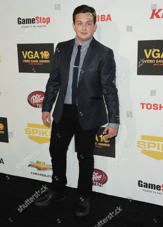 Noah Munck arrives at Spike's 10th Annual Video Game Awards at Sony Studios, in Culver City, Calif