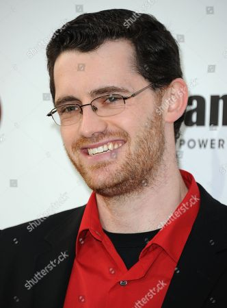 Stock Image of Austin Wintory arrives at Spike's 10th Annual Video Game Awards at Sony Studios, in Culver City, Calif