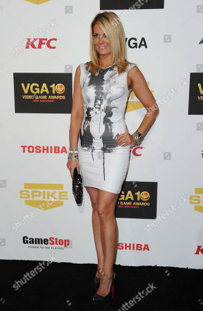 Courtney Hansen arrives at Spike's 10th Annual Video Game Awards at Sony Studios, in Culver City, Calif