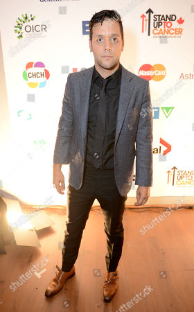 George Stroumboulopoulos attends Stand Up To Cancer Canada, in Toronto