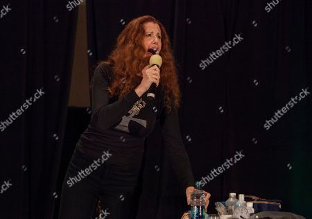 Stock Picture of Actor Suzie Plakson during the Creation Entertainment's Official Star Trek Convention at The Westin O'Hare, on in Rosemont, IL