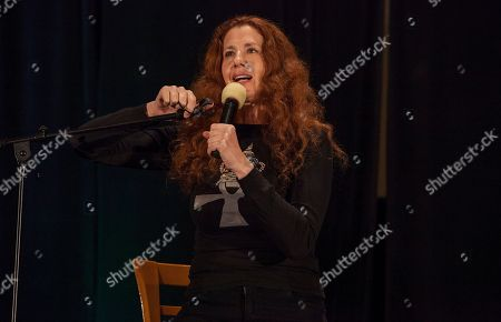 Stock Photo of Actor Suzie Plakson during the Creation Entertainment's Official Star Trek Convention at The Westin O'Hare, on in Rosemont, IL