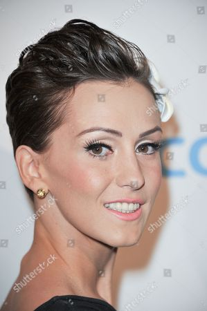 Erica Linz attends the Fulfillment Fund's Stars 2012 Benefit Gala at The Beverly Hilton Hotel, in Beverly Hills, Calif