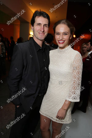 Writer/Director Billy Ray and Zoe Graham seen at STX Entertainmentâ?™s 'Secret In Their Eyes' Premiere at Hammer Museum, in Los Angeles, CA