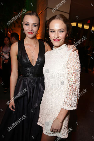 Maty Noyes and Zoe Graham seen at STX Entertainmentâ?™s 'Secret In Their Eyes' Premiere at Hammer Museum, in Los Angeles, CA