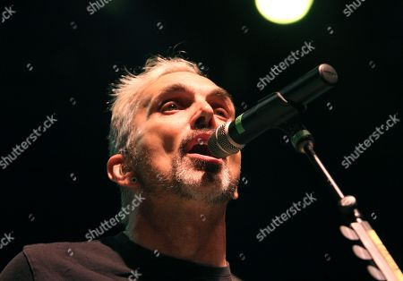 Art Alexakis with Everclear performs during the Summerland Tour 2015 at Verizon Wireless Amphitheatre, in Atlanta