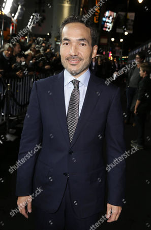 Composer Steve Jablonsky seen at Summit Entertainment's Los Angeles Premiere of 'Ender's Game', on Monday, Oct, 28, 2013 in Los Angeles
