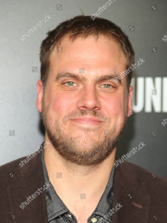 """Stock Image of Jim Mickle attends the premiere party for Sundance TV's originally scripted series, """"Hap and Leonard"""", at Hill Country, in New York"""