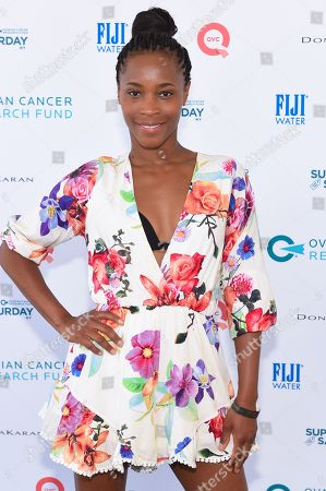 Stock Photo of Valisia Lekae attends the 18th Annual Super Saturday fundraiser to benefit the Ovarian Cancer Research Fund at Nova's Ark Project in Water Mill, in New York