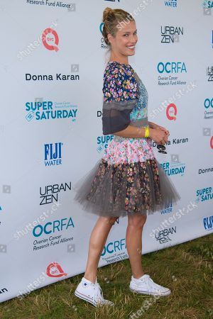 "Stock Picture of Veronica Varekova attends the Ovarian Cancer Research Fund Allianceâ?™s (OCRFA) 19th annual ""Super Saturday"" garage sale benefit at Nova's Ark Project in Water Mill, in New York"