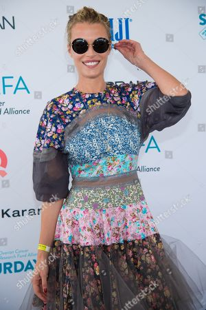 "Veronica Varekova attends the Ovarian Cancer Research Fund Allianceâ?™s (OCRFA) 19th annual ""Super Saturday"" garage sale benefit at Nova's Ark Project in Water Mill, in New York"