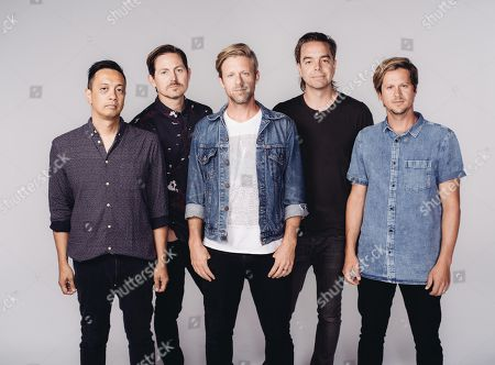 Editorial picture of Switchfoot Portrait Session, Los Angeles, USA - 30 Jun 2016