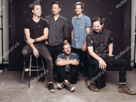 Editorial image of Switchfoot Portrait Session, Los Angeles, USA - 30 Jun 2016