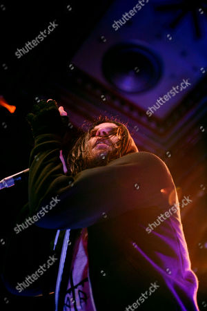 Bert McCracken of The Used, perform at The Tabernacle, in Atlanta