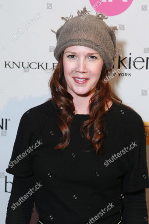 Stock Image of Adria Tennor attends Talent Resources Suites,, in Park City, Utah