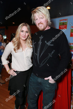 Stock Photo of Naomi Kyle and Jake Busey attend Talent Resources Suites,, in Park City, Utah