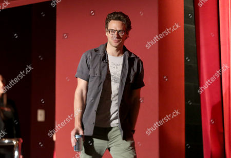 """Jacob Pitts participates in a panel at """"An Evening with Justified,"""", at the Television Academy in the NoHo Arts District in Los Angeles"""