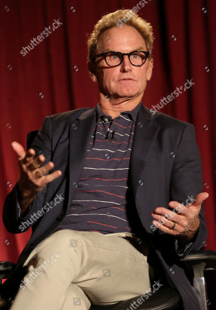 """Jere Burns participates in a panel at """"An Evening with Justified,"""", at the Television Academy in the NoHo Arts District in Los Angeles"""