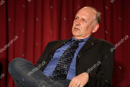 """Nick Searcy participates in a panel at """"An Evening with Justified,"""", at the Television Academy in the NoHo Arts District in Los Angeles"""