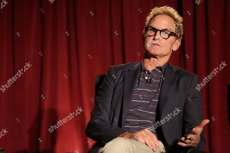 """Jere Burns, participates in a panel at """"An Evening with Justified,"""", at the Television Academy in the NoHo Arts District in Los Angeles"""