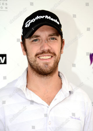Bret Harrison arrives at the Academy of Television Arts & Sciences 14th Primetime Emmy Celebrity Tee-Off, on Monday, September, 9, 2013 at Oakmont Country Club in Glendale, CA