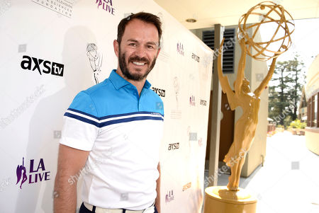 Greg Ellis arrives at the Academy of Television Arts & Sciences 14th Primetime Emmy Celebrity Tee-Off, on Monday, September, 9, 2013 at Oakmont Country Club in Glendale, CA