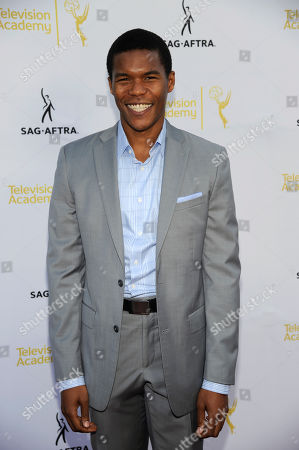Gaius Charles seen at the Television Academy's 66th Emmy Awards Dynamic and Diverse Nominee Reception at the Television Academy, in the NoHo Arts District in Los Angeles