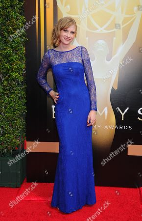 Dayeanne Hutton arrives at the Television Academy's Creative Arts Emmy Awards at Microsoft Theater, in Los Angeles