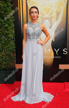 Editorial picture of Television Academy's 2015 Creative Arts Emmy Awards - Arrivals, Los Angeles, USA - 12 Sep 2015