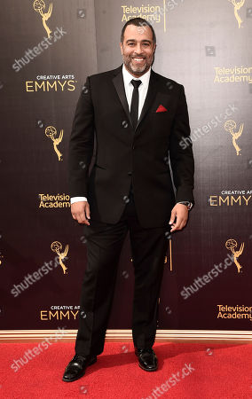 Anthony Mendez arrives at night one of the Television Academy's 2016 Creative Arts Emmy Awards at the Microsoft Theater on in Los Angeles