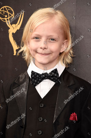 Christian Ganiere arrives at night one of the Television Academy's 2016 Creative Arts Emmy Awards at the Microsoft Theater on in Los Angeles