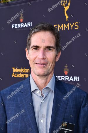 Governor Chip Johannessen is seen at the Television Academy's 2016 Emmy Awards Writer's Nominee Reception at The Television Academy's Wolf Theatre on in North Hollywood, California