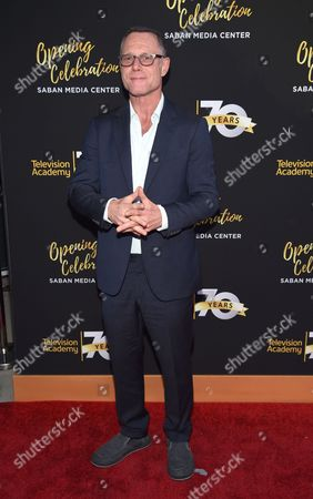 Jason Beghe arrives at the Television Academy's 70th Anniversary Gala and Opening Celebration for its new Saban Media Center, in the NoHo Arts District in Los Angeles