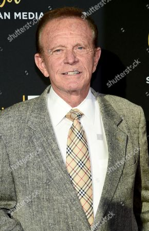 Stock Picture of Bob Eubanks arrives at the Television Academy's 70th Anniversary Gala and Opening Celebration for its new Saban Media Center, in the NoHo Arts District in Los Angeles