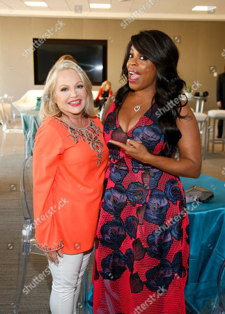 Stock Picture of Charlene Tilton, left, and Niecy Nash attend the Television Academyâ?™s 70th Anniversary Gala and Opening Celebration for its new Saban Media Center, in the NoHo Arts District in Los Angeles