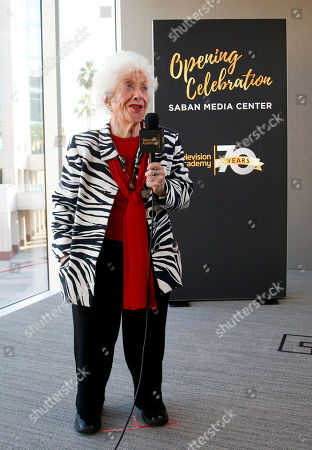 Charlotte Rae attends the Television Academyâ?™s 70th Anniversary Gala and Opening Celebration for its new Saban Media Center, in the NoHo Arts District in Los Angeles
